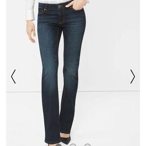White House Black Market Slim Boot Jeans 2S